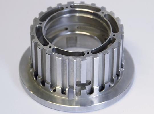 Pièce mécanique de précision réalisée par staero